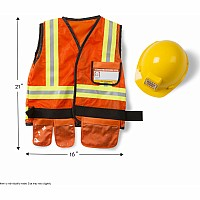 Construction Worker Role Play Costume Set