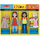 Chloe and Zoe Magnetic Dress Up