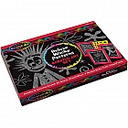 Deluxe Wacky Patterns Scratch Art Set