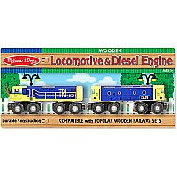 Melissa & Doug Locomotive  Diesel Engine