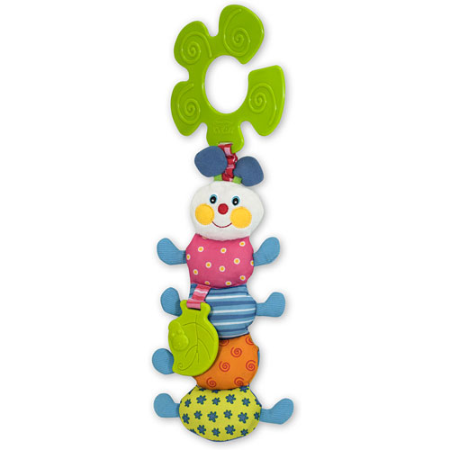Funky inchworm stroller toy monkey fish toys for Monkey fish toys
