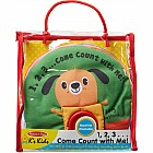 1,2,3...Come Count with Me Cloth Activity Book