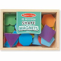 M&D Magnetic Wooden Shapes and Colors