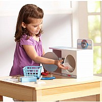 Wooden Wash, Dry & Iron Play Set
