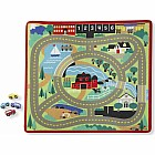 Round The Town Road Rug (4' x 3')