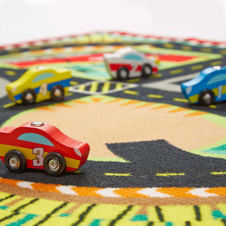 Round The Speedway Race Track Rug The Wonder Emporium