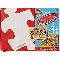Farm & Zoo Puzzle Keeper