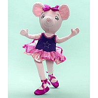 Angelina Ballerina Star of the Show 18-inch Cloth Doll
