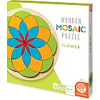 Wooden Mosaic Puzzle: Flower