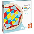 Wooden Mosaic Puzzle: Star