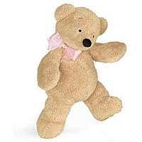 Smushy Bear Pink Bow