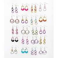 Linkt Craft Kit Hoops & Loops (20 Earring Collection)