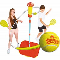 Mookie Swingball Classic Swing ball - Red & Yellow