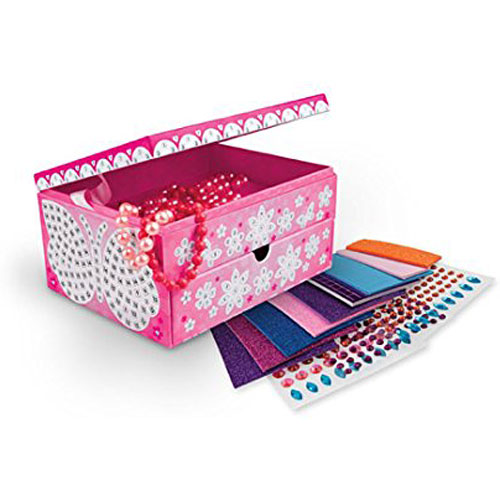 Orb Factory Sticky Mosaics Jewelry Box Kit Quinnderella039s Big
