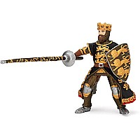 Black And Gold King Richard With Spears