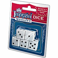 Imperial Dice - White 5pc