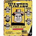 Magnetic Wanted Poster