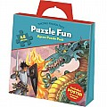 Fire-Breathing Dragon Puzzle Activity Tote