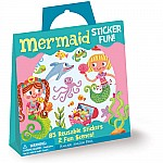 Mermaid Sticker Activity Tote