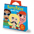 Funny Faces Sticker Activity Tote