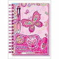 Fancy Butterfly Creative Fun Journal With Accessories