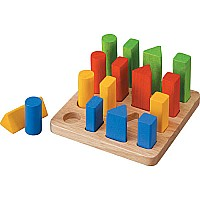 Geometric Peg Board