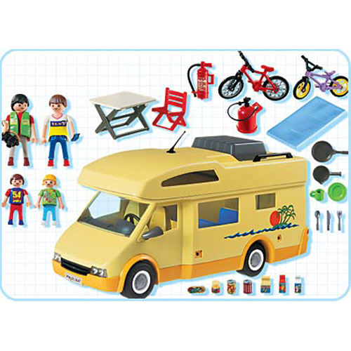 Family Camper Optimus Toys
