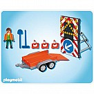 Playmobil 4049 Led Signal on Trailer