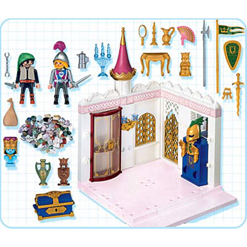 Royal treasury the toyworks for Chateau playmobil 4250