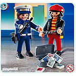 Playmobil Police with Thief
