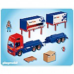 Playmobil Truck and Trailer