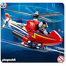 Playmobil 4824 Firefighting Helicopter
