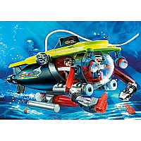 Deep Sea Submarine With Underwater Motor