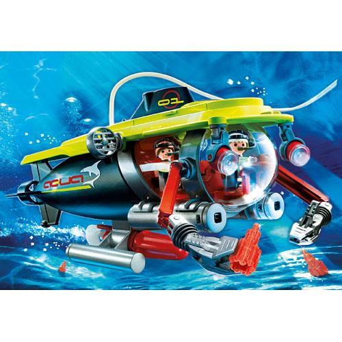 Deep Sea Submarine With Underwater Motor Homewood Toy