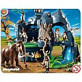 Playmobil Stone Age Cave With Mammoth