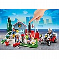 Playmobil Anniversary Compact Set Fire Brigade Operation Quad