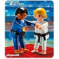 Playmobil 2 Judo Competitors
