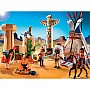 Native American Camp With Totem Pole by Playmobil