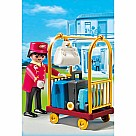 Playmobil 5270 Porter With Baggage Cart