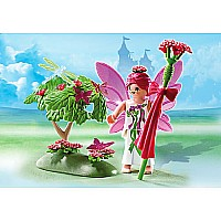Flower Fairy With Enchanted Tree