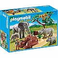 Playmobil African Savannah With Animals