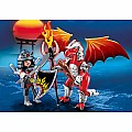 Playmobil Fire Dragon With Warrior