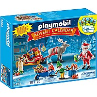 Advent Calendar Santa Workshop