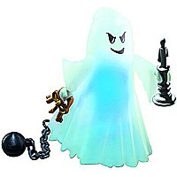 Castle Ghost with Rainbow LED 6042
