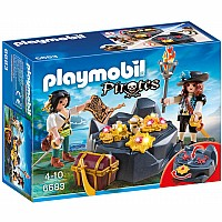 PLAYMOBIL Pirate Treasure Hideout Playset