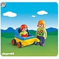 Playmobil Mother With Baby and Stroller