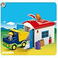 Playmobil Truck With Garage 123