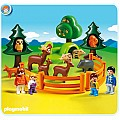 Playmobil 1.2.3 Forest Animal Park