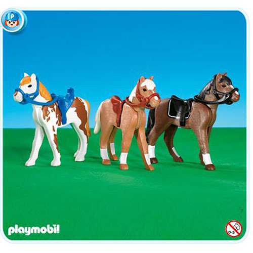 Playmobil 7943 horses tutoring toy - Pferde playmobil ...
