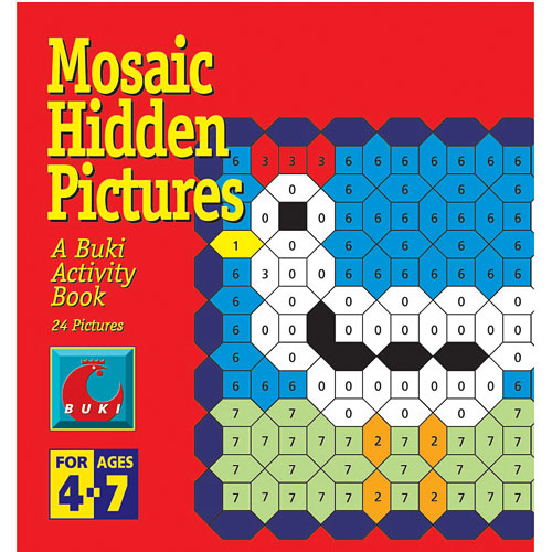 Mosaic Hidden Pictures - by - POOF - Slinky
